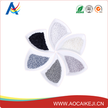 HDPE/LDPE / PA white grey plastic masterbatch for transport and storage containers