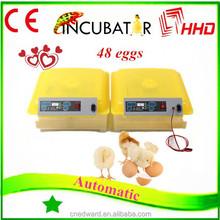 New Condition and Chicken,Reptile,Bird,Emu,Ostrich,Turkey,Goose,Duck,quail .snack Usage 48 mini egg incubator (EW-48)