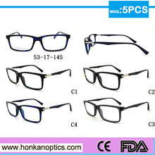 Hot selling eyeglasses myopia optical computer glasses frame brand design rb HKC150013