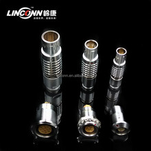 Lemos Metal Push-pull Electric Connector B Series multicore 2 to 26 pin socket plug Circular Industrial Connector
