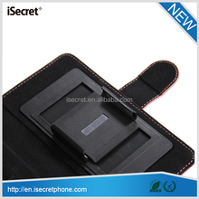 universal flip phone case for 4-5 inch phone sliding function