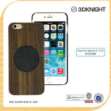 Promotion Wholesales Lower Price for iPhone 6 Plus Wood Bumper Case Fashion Rose Wood Cover for iPhone 6