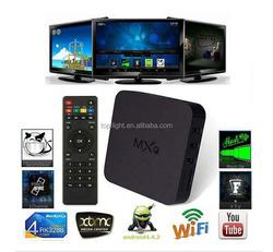 MXQ Pre-installed Kodi/XBMC Amlogic S805 Quad Core WIFI IPTV Android Mini PC Smart TV box