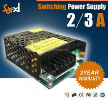 Factory price! swithcing power supply 24V 2a 3a power amp smps