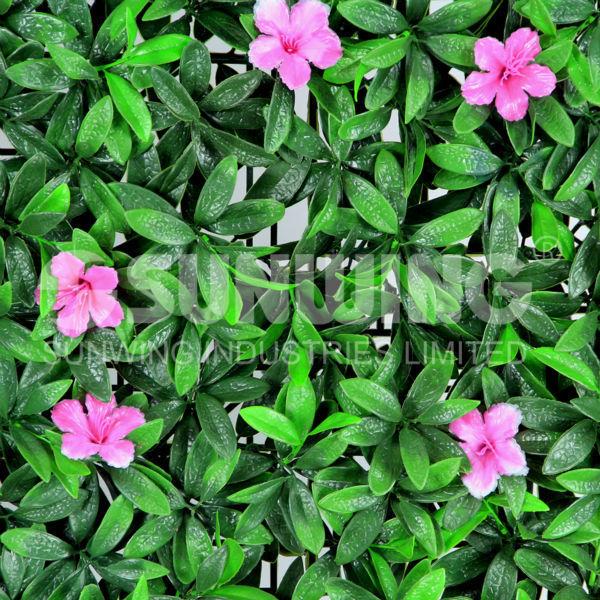 Jard n cercado con arbustos ornamentales para dar privacidad for Vegetacion ornamental