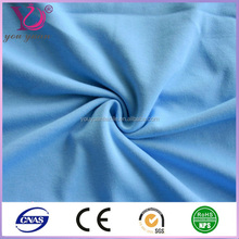 Textile knit plain solid dyed scuba fabric polyester with soft hand feeling