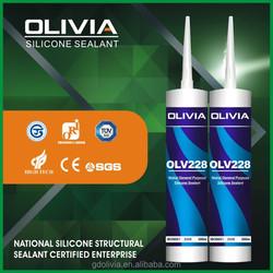 OLV228 Neutral Indoor Waterproof Silicone Sealant