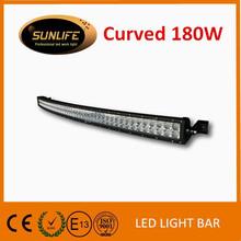 Hot sale 180w curved dual row led light bars for truck car UTV ATV 4x4 13050lm water proof led bar light