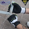 NMSAFETY Industrial safety gloves TPR impact resistant mechanic gloves