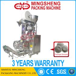 JX005 round type automatic tea bag packing machine manufacturer machine