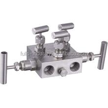 Lowe price !!! remot mount five valve manifolds