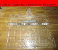 fire retardant raincoat/poncho/ full color printing for promotion