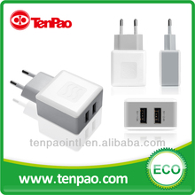 17W 5V 3.4A mobile phone usb travel charger