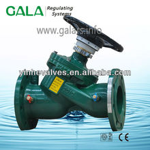 Variable Orifice Double Regulation Valve Flanged Ends
