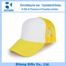 Custom knitted fabric mesh cap for adults