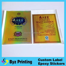 OEM Waterproof Printing Custom Adhesive E Juice Labels 30ml