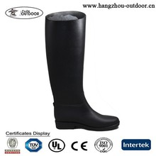 2015 Newest Fashionable Rubber Boots,Soft Flexible Natural Rubber Boots For Women,Cheap Classic Black Lightweight Rubber Boots