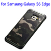 China Market Camouflage TPU+PC Hybrid Case for Samsung S6 Edge cellphone case