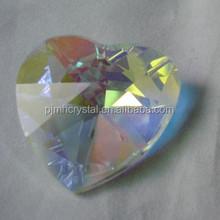 crystal heart ornament for art decoration MH-CZ002