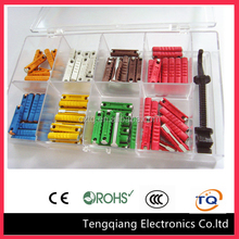 100 Assorted European GBC ceramic tubes fuse socket 5A 8A 16A 25A 30A