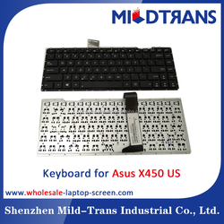 Hot selling new original US Laptop keyboard for ASUS X450 X550
