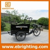 250w brushless 2015 new design tricycle cargo bike for kids
