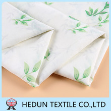 Cheap fabric supplier Latest design Soft 100 polyester bed sheet fabric