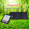 Solar cell phone charger hottest 7W muti function portable folding solar charger with inner voltage controller for phone