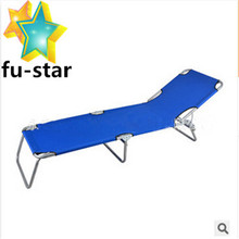 PN Hot sale outdoor folding aluminum military 600D oxford canvas beach bed beach bed folding bed cot