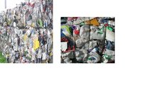 Mixed Plastic Waste Scrap