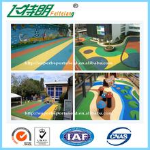 Professional Outdoor Indoor Sports Flooring-Polypropylene Made Suspended Sports Flooring