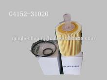 Auto del filtro de aceite para toyota 04152-31020 04152-31080 04152-38010 04152-31060
