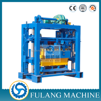 2015 new QTF40-2 concrete hollow block making machine for sale