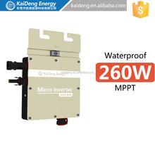 Waterproof ip 65 micro system grid 300w inverter