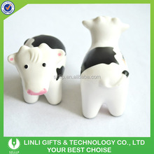 Custom Logo Promotion Mini Cow Stress Squeeze Toy