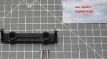 Aluminum Front Bumper Mount Black For SCX10 Jeep RC Axial Pump Mount 1/10 Crawler Car Upgrade Parts