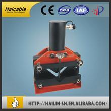 Manufacturing company electric hydraulic pumps control style hydraulic busbar cutting knife CAC-100
