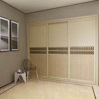 2014 New Design Simple Indian Style Bedroom Wardrobe Designs