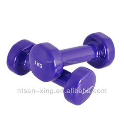 Ladies Hand Weights Dumbbells Vinyl Dumbells Set Home Fitness Exercise