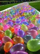 water outdoor playing balloons, hot selling water bomb balloon, the popular balloon water