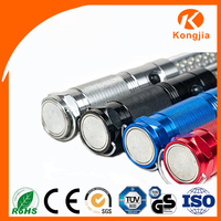 9 Led Ultra Bright UV Fluorescent Flashlight With High Power 365nm-500nm Black Light Mini UV Led Flashlight Torch Lamp