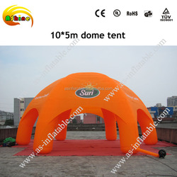 CE quality advertising spider inflatable tent price