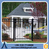 Alibaba China Supplier aluminum picket fence/indoor iron stairs fence/prefab fence panels steel fence