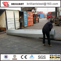 galvanized steel pipe fittings/100mm galvanized pipe clamp/galvanized pipe horse fence panels