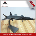 Modelo de gris avión de escritorio de gran escala con proporción de 1:38 de aleación