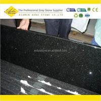 Black galaxy speckled granite countertops