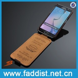 2015 hot new product by alibaba express, Real leather case for apple iphone 6 flip case