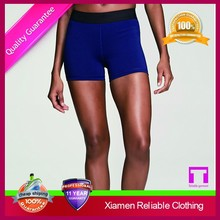 Cotton spandex blend fashion skin tight shorts wholesale