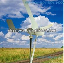 2013 new pitch control wind turbine 300w 400w 600w 1000w