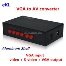 2015 Metal shell PC VGA to TV AV, RCA, S-Video Converter